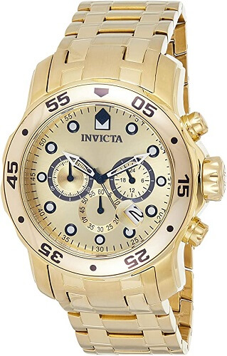 Invicta Men's 0074 pro Diver Analog Japanese Quartz Watch